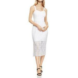 NWT BCBGeneration Lace Sleeveless White Dress Sz 0